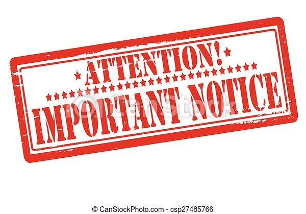Important notice - csp27485766