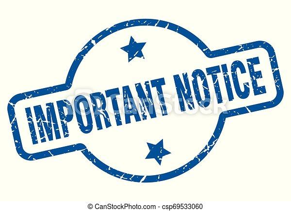 important notice - csp69533060