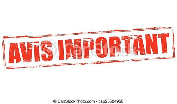 Important notice - csp25584958