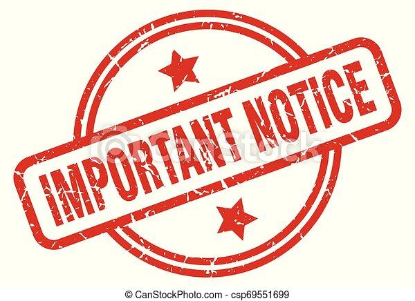 important notice - csp69551699