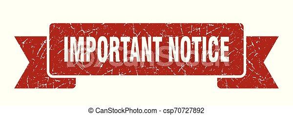 important notice - csp70727892