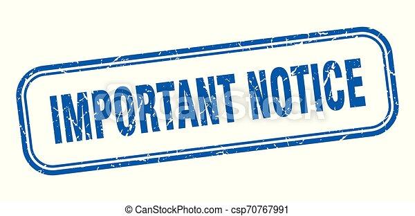 important notice - csp70767991