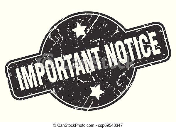 important notice - csp69548347