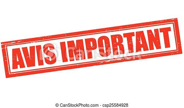 Important notice - csp25584928