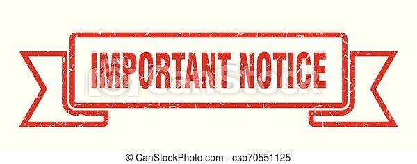 important notice - csp70551125