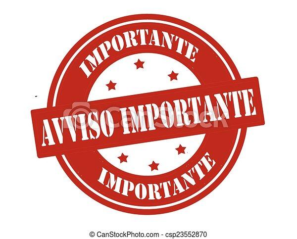Important notice - csp23552870