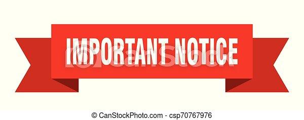 important notice - csp70767976