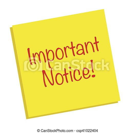Important Notice Note - csp41022404