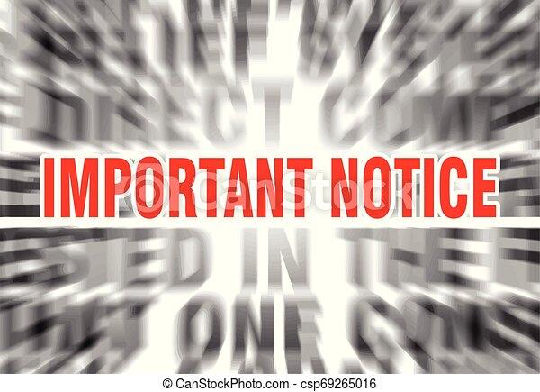 important notice - csp69265016