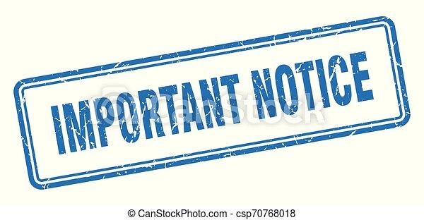 important notice - csp70768018