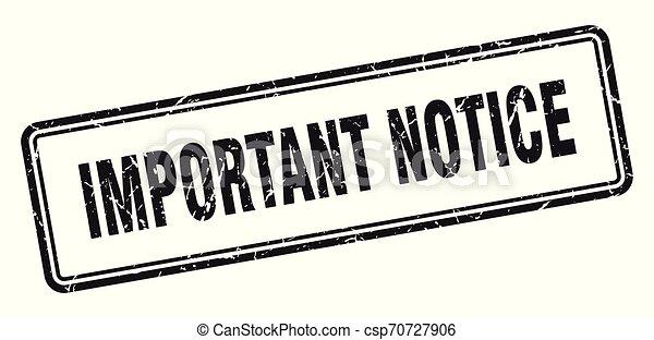important notice - csp70727906
