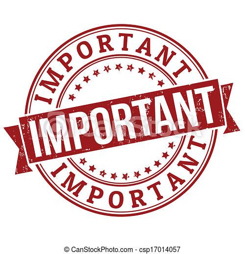 important, timbre - csp17014057