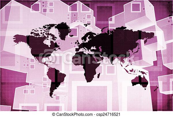 importation, global, exportation - csp24716521