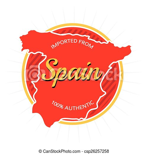 Imported from Spain Label - csp26257258