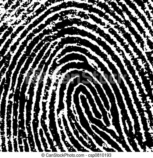 La huella dactilar 8 - csp0810193