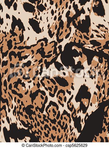 impresión, resumen, animal - csp5625629