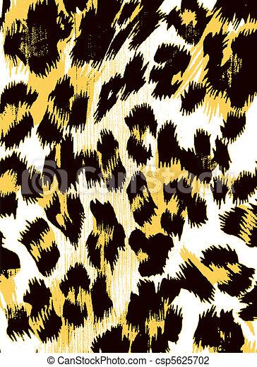impressão, abstratos, animal, fundo - csp5625702
