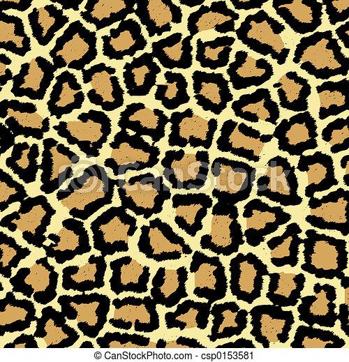impressão, leopardo - csp0153581