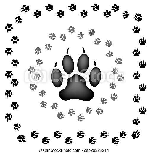 impressões, animal - csp29322214