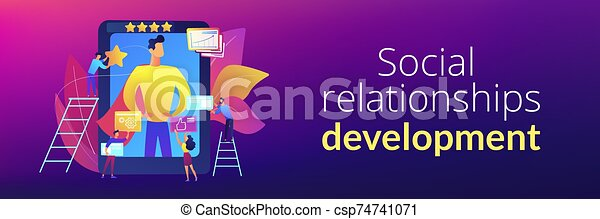 Impression Management Concept Banner Header Personal Development And Self Improvement Course Impression Management