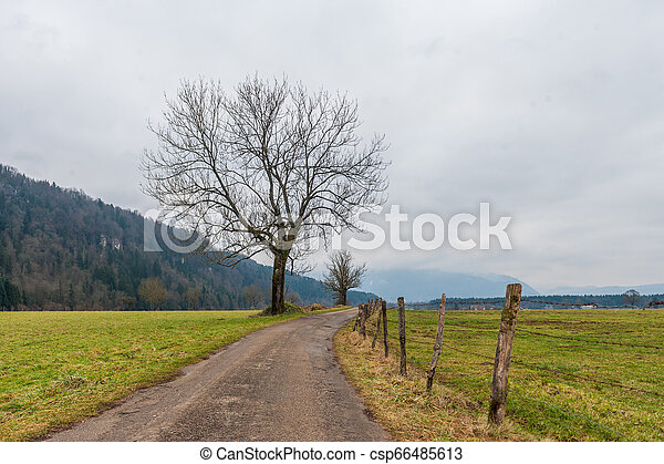 Impression of the Country side in the French Savoy Area - csp66485613
