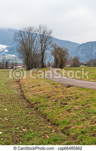 Impression of the Country side in the French Savoy Area - csp66485662