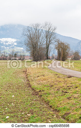 Impression of the Country side in the French Savoy Area - csp66485698