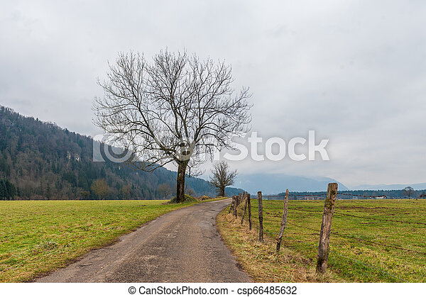 Impression of the Country side in the French Savoy Area - csp66485632