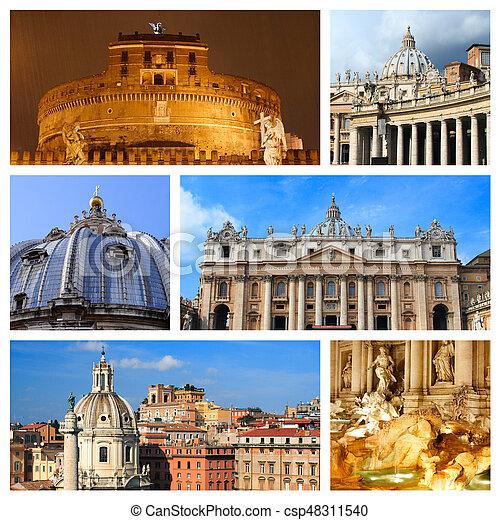 Impressions of Rome - csp48311540
