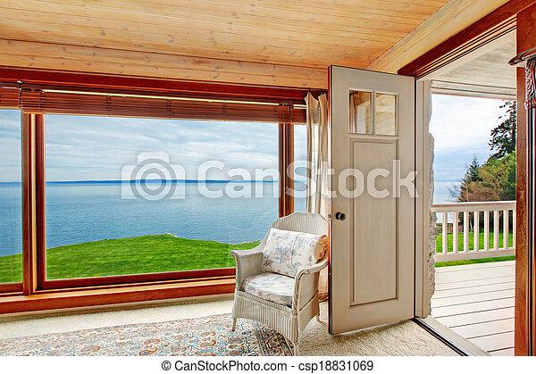 Impressive window view - csp18831069