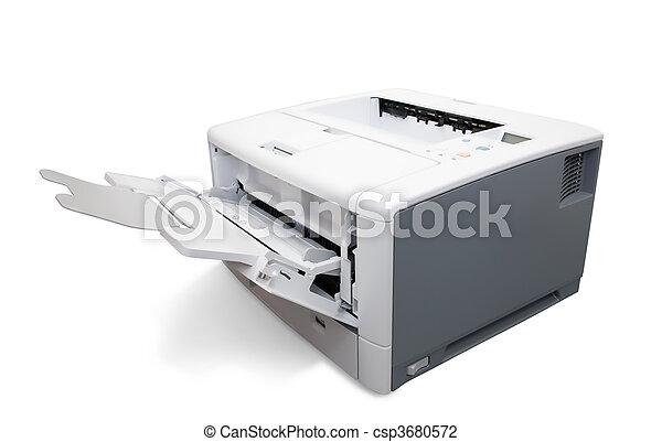 impressora, laser, escritório - csp3680572