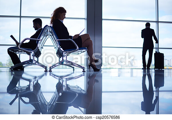In airport - csp20576586