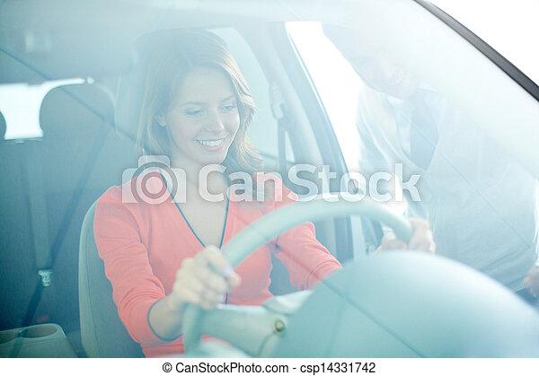 In automobile center - csp14331742