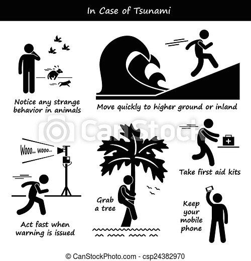 In Case of Tsunami  - csp24382970