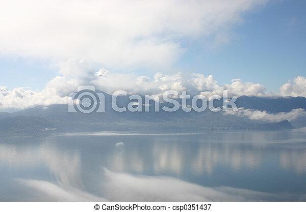 in clouds - csp0351437