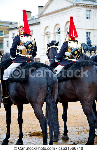 in london horse for the queen - csp31566748