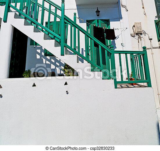 in the isle of greece  green - csp32830233