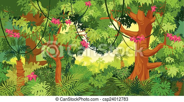 In the jungle - csp24012783