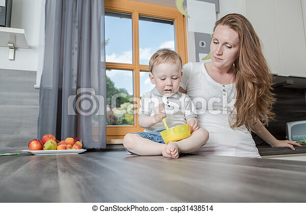 in the kitchen - csp31438514