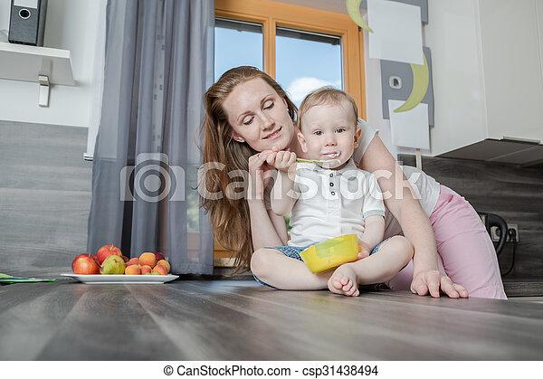 in the kitchen - csp31438494