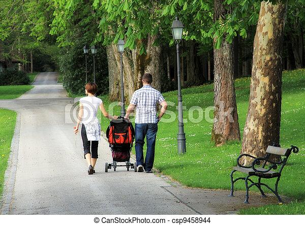 In the park - csp9458944