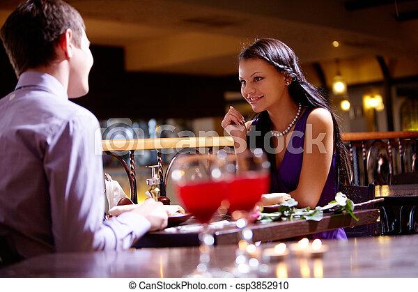 In the restaurant - csp3852910