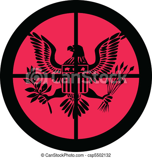 In the Scope Series  America (under attack) - csp5502132