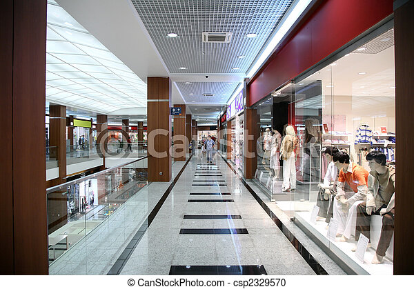 in the store of the fashionable clothing - csp2329570