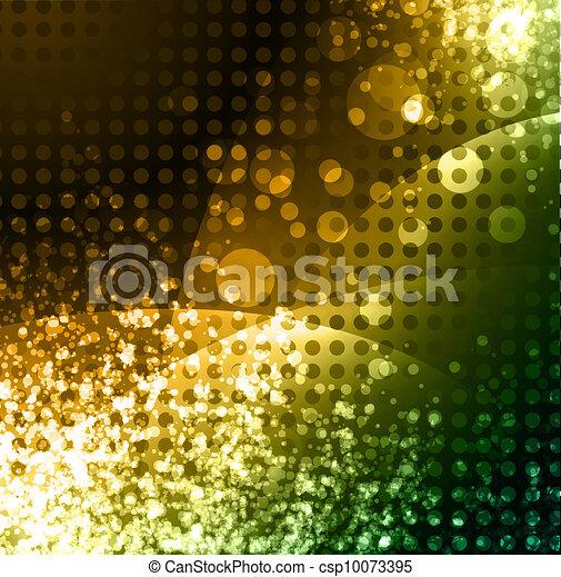 incandescent, fond, néon, résumé - csp10073395