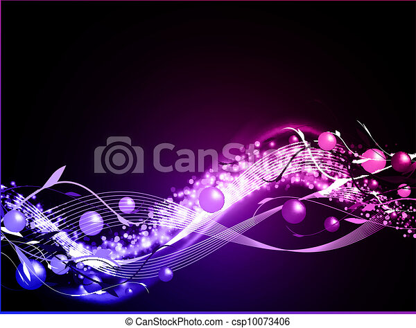 incandescent, fond, ondulé, néon - csp10073406
