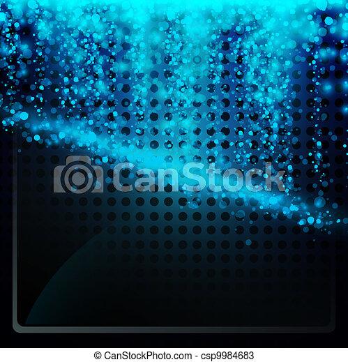 incandescent, fond, résumé - csp9984683