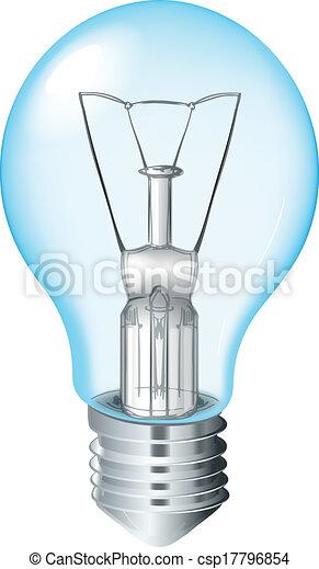 Incandescent Light Bulb - csp17796854