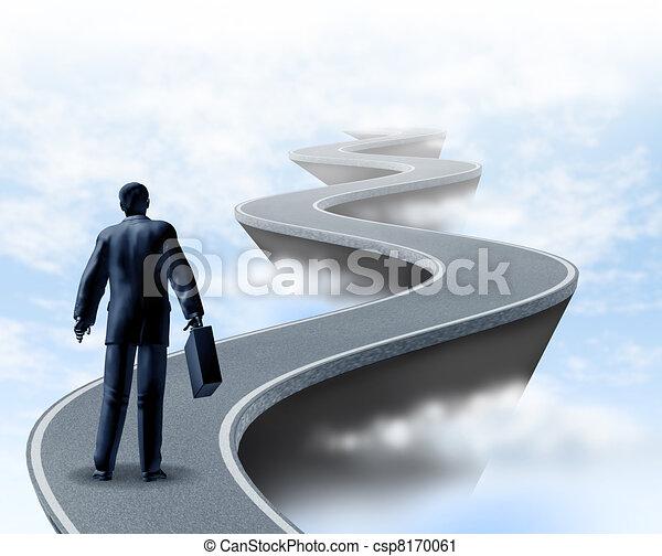 Incertidumbre empresarial - csp8170061