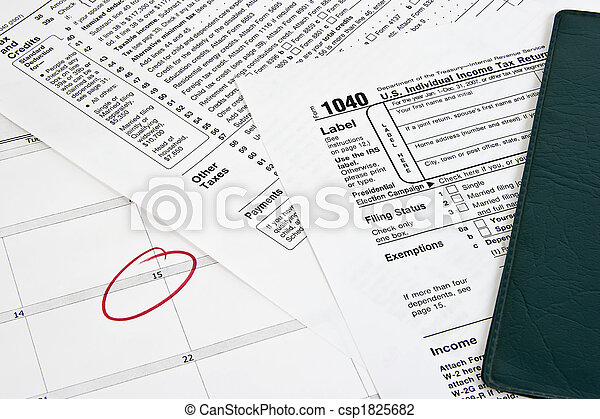 Income Tax Return - csp1825682
